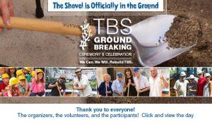 TBS Groundbreaking Recap