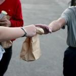 deliver sandwiches