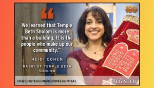 Rabbi Cohen most influential