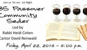 2016 Community Seder