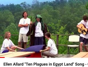 Ellen Allard Ten Plagues in Egypt Land Song!